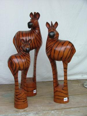 houten voorwerpen afrika