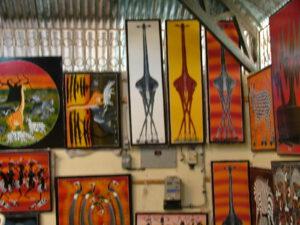 Tingatinga schilderijen