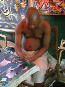 Tingatinga schilderijen Tanzania