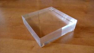 perspex plexiglas sokkel 4mm
