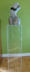 perspex plexiglas zuil