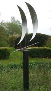 rvs cortenstaal graniet metaal urn voor as moderne abstractekunst