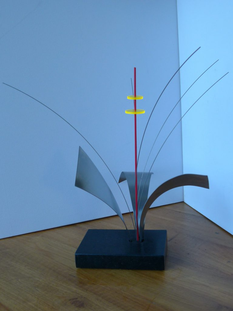 BeeBee RVS graniet perspex