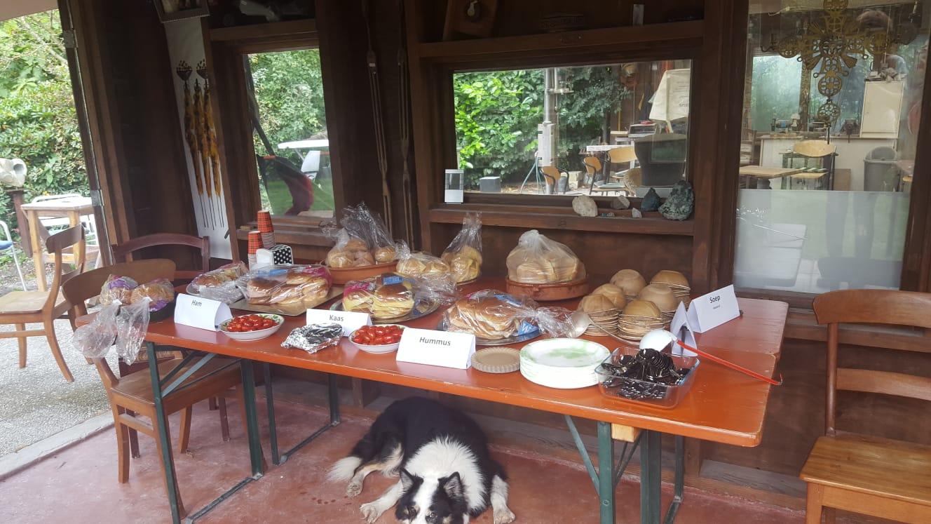 tuinbezoek beeldentuin met lunch
